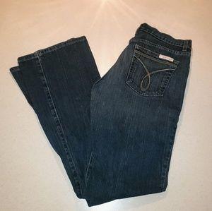 Calvin Klein Jeans Dark Bootcut Size 8